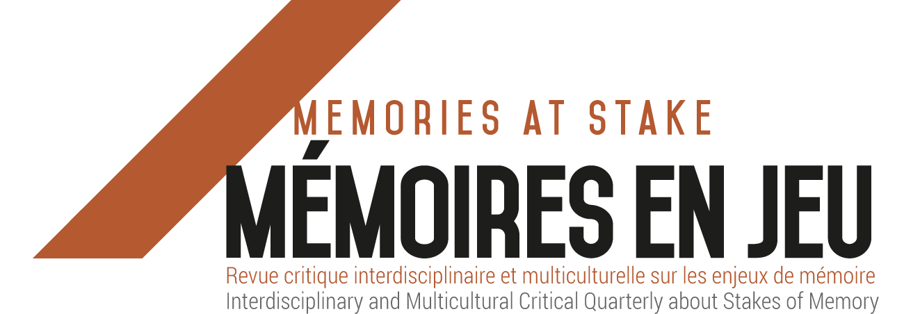 Encyclopédie critique du témoignage et de la mémoire