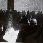 La nuit du carrefour on croise les fantômes. Photogramme du film Le droit à la parole, mai 1968, Michel Andrieu & Jacques Kebadian. ©DR